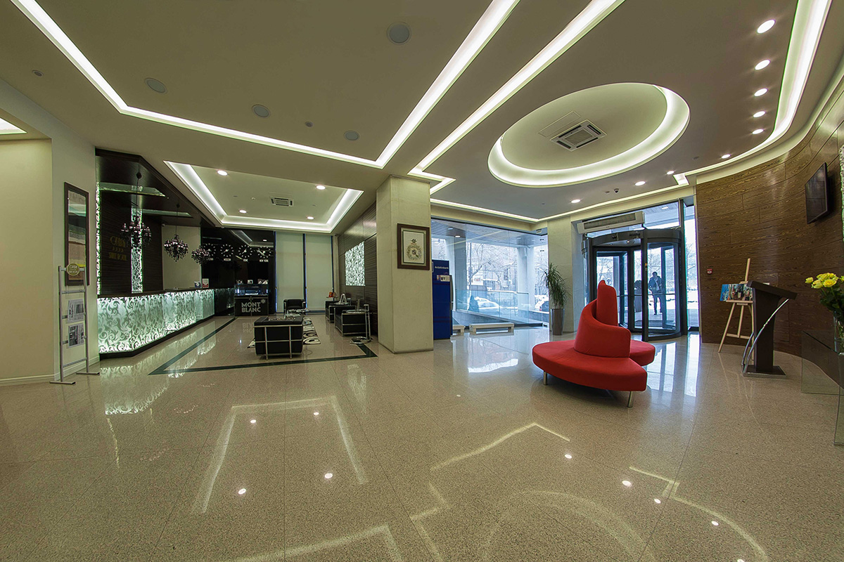Opera Suite Hotel Yerevan Reception